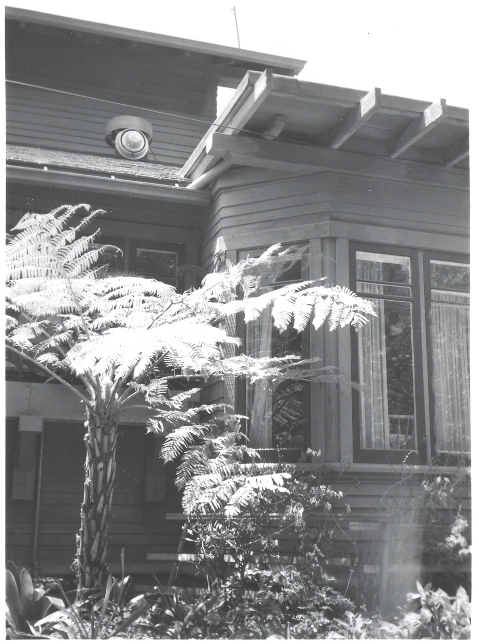 The Gould Residence Property History Olive House Esther Wide Drawer White Back Of From Lily Pond 1949 Breakfast Room And